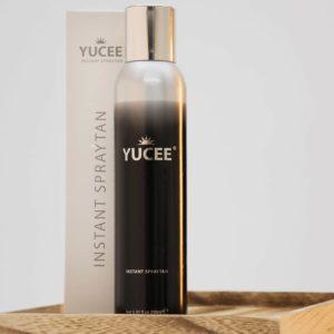 Fles yucee spraytan