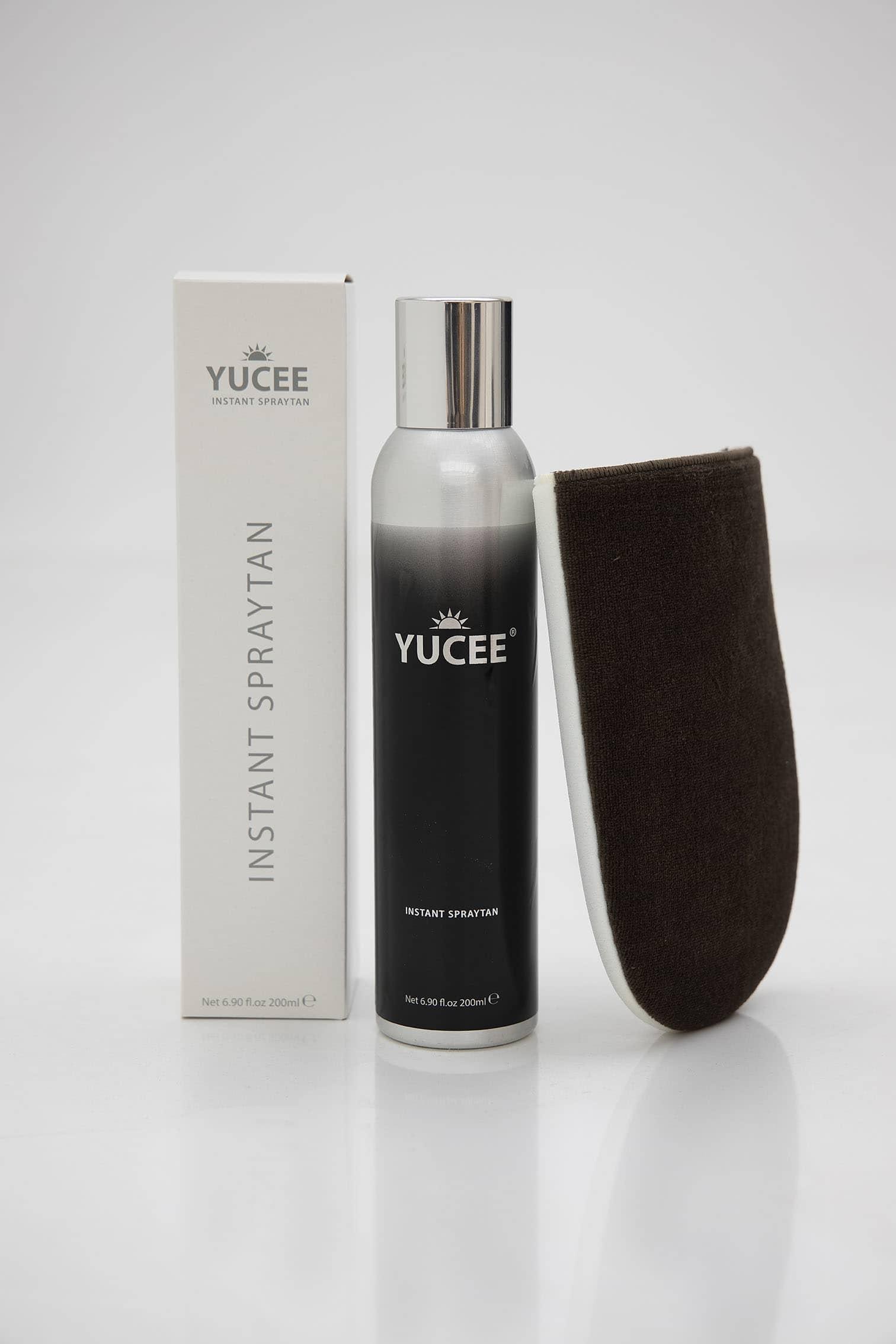 Yucee Zelfbruinspray met Tanning Glove